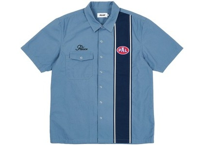 Palace Gassy Shirt Blue (SS21)の写真