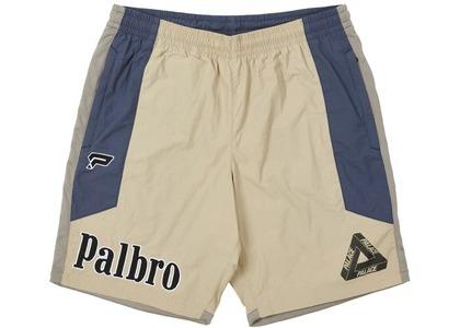 Palace Sports Shell Shorts Tan (SS21)の写真