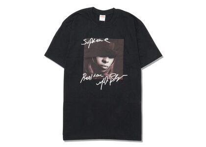 Supreme Mary J. Blige Tee Blackの写真
