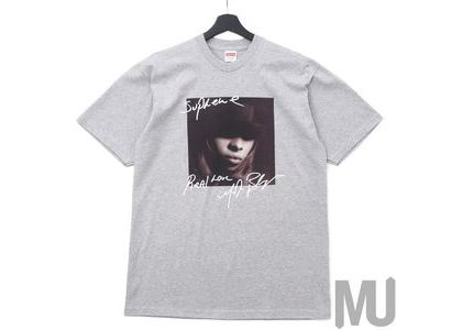 Supreme Mary J. Blige Tee Heather Greyの写真