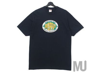 Supreme New Shit Tee Navyの写真