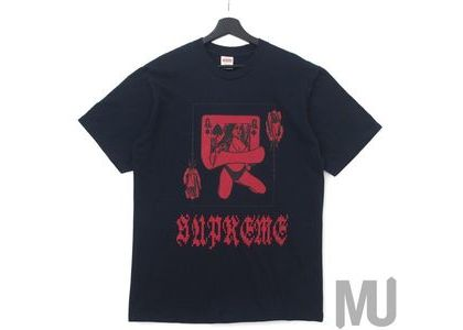 Supreme Queen Tee Navyの写真