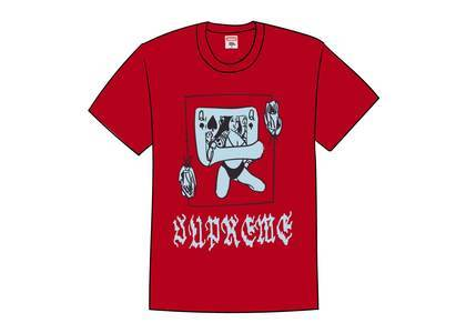 Supreme Queen Tee Redの写真