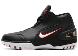 LeBron 1 Air Zoom Generation Black White Retroの写真