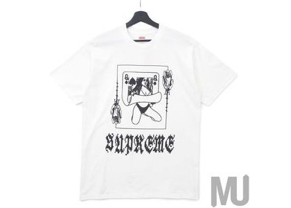 Supreme Queen Tee Whiteの写真