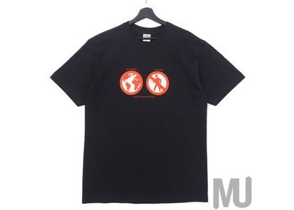 Supreme Save The Planet Tee Blackの写真