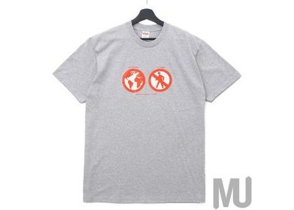 Supreme Save The Planet Tee Heather Greyの写真