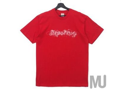 Supreme Smoke Tee Redの写真
