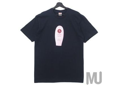 Supreme Super Cream Tee Navyの写真
