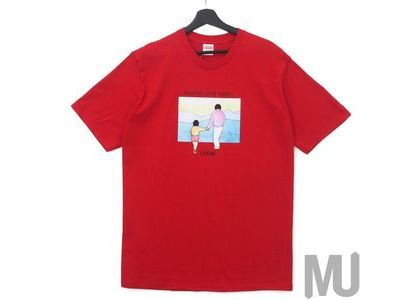 Supreme Heaven And Earth Tee Redの写真