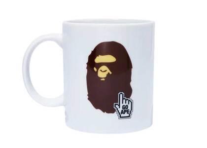Bape Home Bape Online Mug Online Exclusive White (SS21)の写真