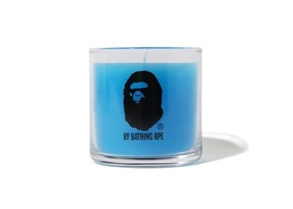 Bape Home by Bathing Ape Candle Blue (SS21)の写真