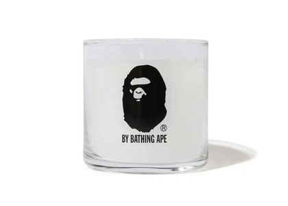 Bape Home by Bathing Ape Candle White (SS21)の写真