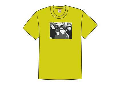 Supreme The Velvet Underground Tee Yellowの写真