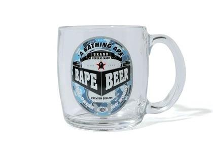 Bape Home Beer Glass Clear (SS21)の写真