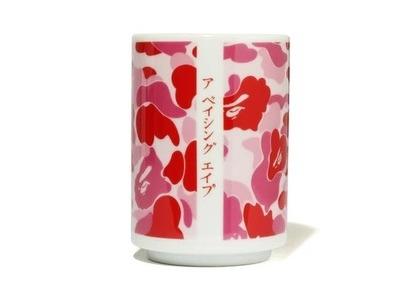 Bape Home ABC Camo Japanese Teacup Pink (SS21)の写真