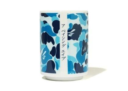 Bape Home ABC Camo Japanese Teacup Blue (SS21)の写真