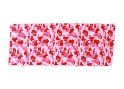 Bape Home ABC Camo Towel Pink (SS21)の写真