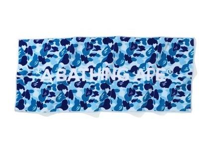 Bape Home ABC Camo Logo Towel Logo/Blue (SS21)の写真