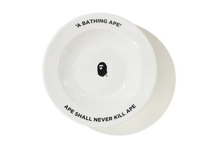 Bape Home Ape Head Plate White (SS21)の写真