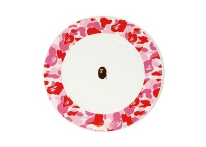Bape Home ABC Camo Dishes Pink (SS21)の写真