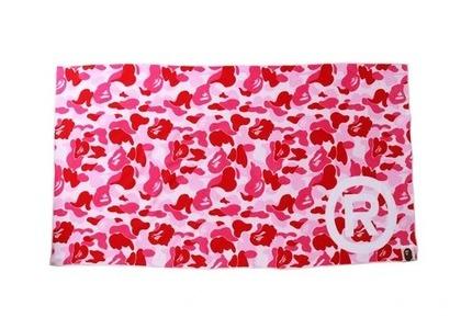 Bape Home ABC Camo Towel R/Logo/Pink (SS21)の写真