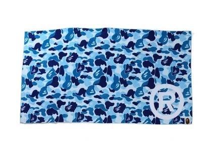Bape Home ABC Camo Towel R/Logo/Blue (SS21)の写真