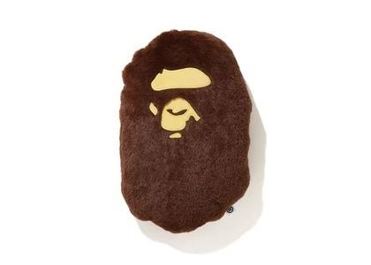 Bape Home Ape Head Cushion Brown (SS21)の写真