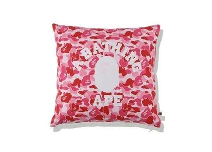 Bape Home ABC Camo College Square Cushion Pink (SS21)の写真