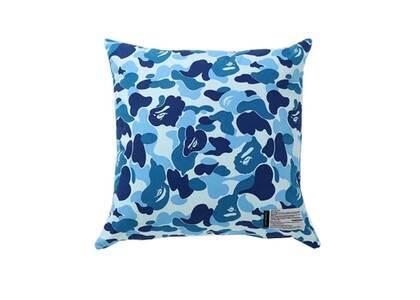 Bape Home × Fabrick ABC Camo Square Cushion Blue (SS21)の写真