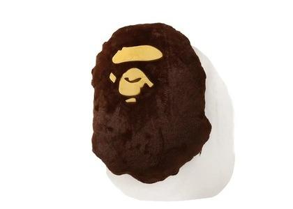 Bape Home Big Ape Head Cushion Brown (SS21)の写真
