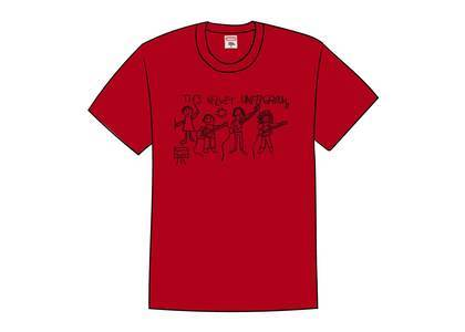 Supreme The Velvet Underground Drawing Tee Redの写真