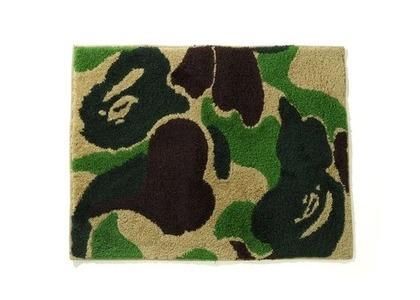 Bape Home ABC Camo Rug Mat Green (SS21)の写真