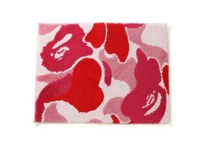 Bape Home ABC Camo Rug Mat Pink (SS21)の写真