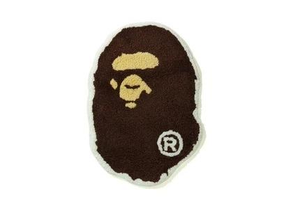 Bape Home Big Ape Head Rug Mat Brown (SS21)の写真