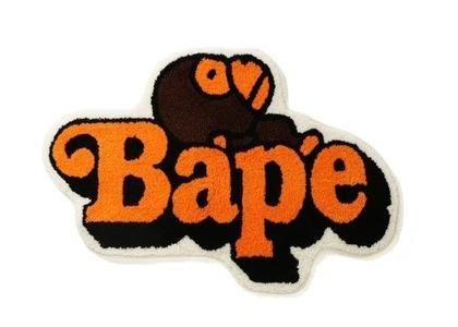 Bape Home Milo On Bape Rug Mat Brown (SS21)の写真
