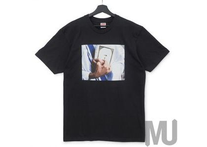 Supreme Bible Tee Blackの写真