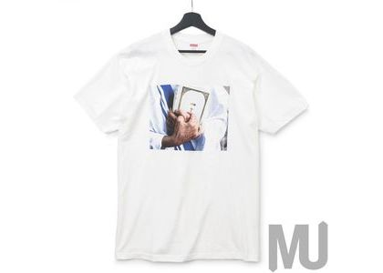 Supreme Bible Tee Whiteの写真
