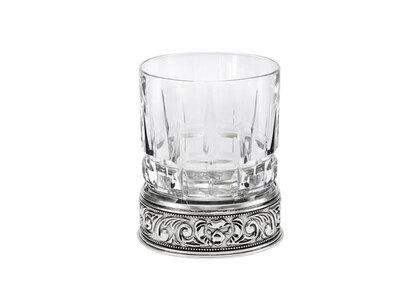Bape Black Whiskey Glass Silver (SS21)の写真