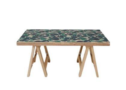 Bape Home × Fabrick × Karimoku ABC Camo Folding Table S Green (SS21)の写真