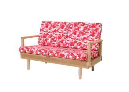 Bape Home × Fabrick × Karimoku ABC Camo Two Seat Sofa Pink (SS21)の写真