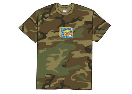 Supreme Cheese Tee Woodland Camoの写真