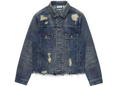 Bape Black Denim Jacket Indigo (SS21)の写真