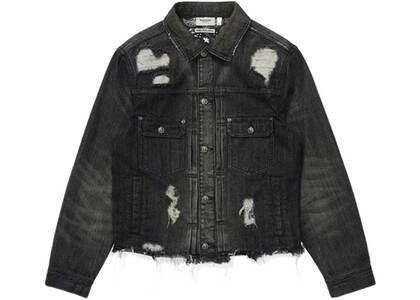 Bape Black Denim Jacket Black (SS21)の写真