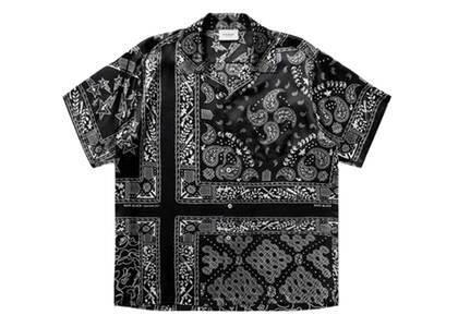 Bape Black Bandana Hawaii Shirt Black (SS21)の写真