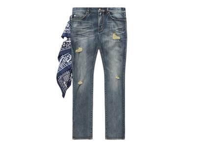 Bape Black Jeans Indigo (SS21)の写真