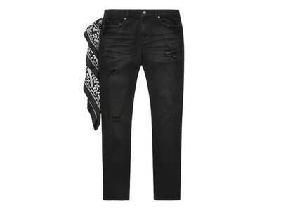Bape Black Jeans Black (SS21)の写真