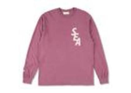 WIND AND SEA S-Dye L/S T-Shirt Berry / Ivory (SS21)の写真