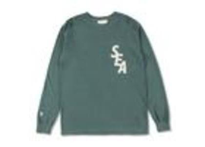 WIND AND SEA S-Dye L/S T-Shirt Green / Ivory (SS21)の写真