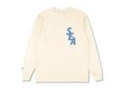 WIND AND SEA S-Dye L/S T-Shirt Ivory / Blue (SS21)の写真